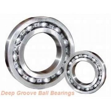 35 mm x 72 mm x 25,4 mm  ISO SA207 deep groove ball bearings