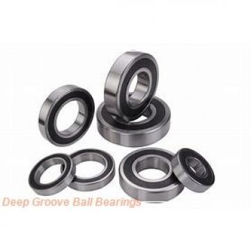 45 mm x 75 mm x 16 mm  NSK 6009T1XZZ deep groove ball bearings