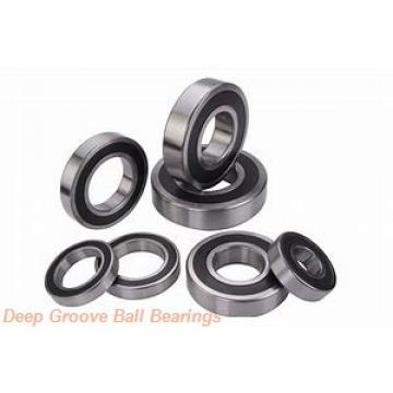 35 mm x 80 mm x 49,2 mm  KOYO UCX07 deep groove ball bearings