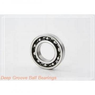 85 mm x 150 mm x 28 mm  NKE 6217-2Z deep groove ball bearings