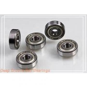 15.875 mm x 22.225 mm x 3.967 mm  SKF D/W ER1458-2ZS deep groove ball bearings