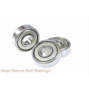 80 mm x 170 mm x 68,3 mm  ISO 63316 ZZ deep groove ball bearings