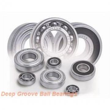 AST FR10-2RS deep groove ball bearings