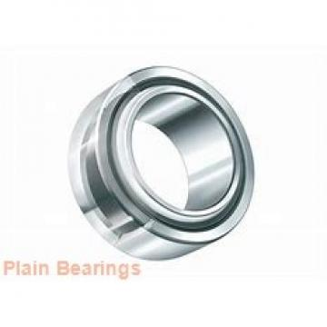 80 mm x 180 mm x 43,5 mm  LS GX80N plain bearings