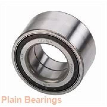 10 mm x 21 mm x 10 mm  NMB MBW10CR plain bearings