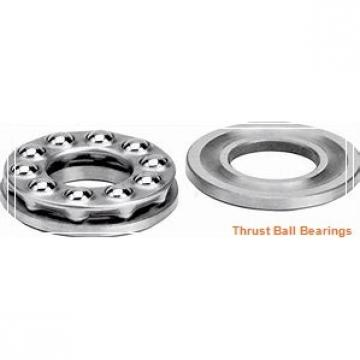 120 mm x 215 mm x 58 mm  SKF NJ 2224 ECJ thrust ball bearings