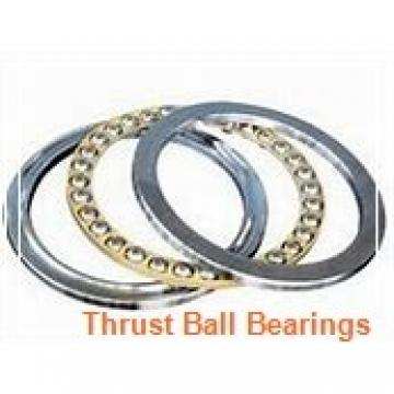 130 mm x 215 mm x 20 mm  ISB 52230 M thrust ball bearings