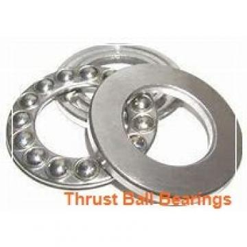 17 mm x 62 mm x 25 mm  INA ZKLF1762-2RS-PE thrust ball bearings