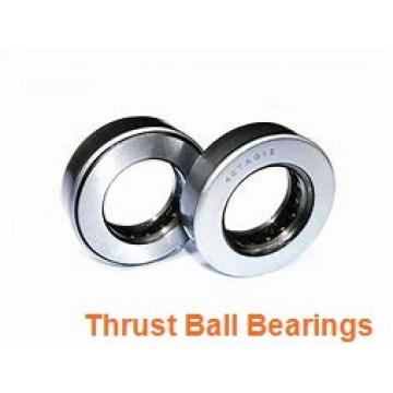 55 mm x 100 mm x 10 mm  NKE 54213-MP+U213 thrust ball bearings